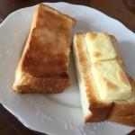 QBBベビーチーズ乗せトーストがことのほか美味しくてビックリ!