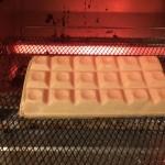 モナカアイスをオーブントースターで焼くと美味しくなる