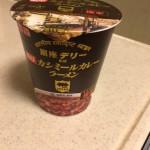 明星のカップ麺 カシミールカレーラーメンが辛い